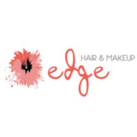 edge hair and makeup logo square