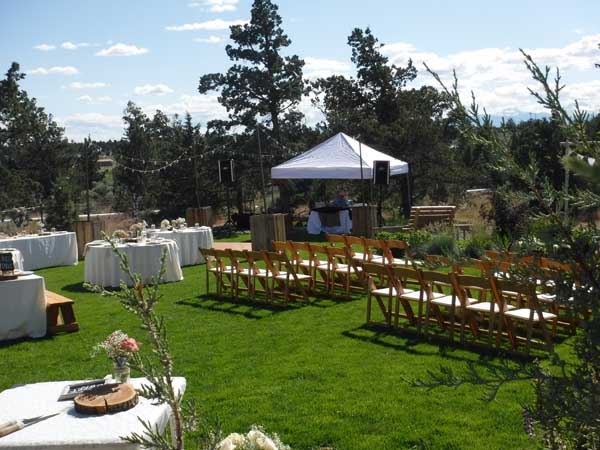 Outdoor Wedding Plan B