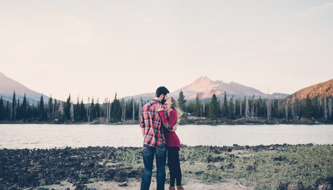 Summer Engagement Session in the Mountains