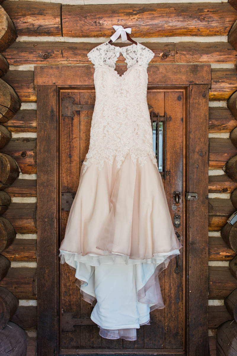 Dusty Blue and Champagne Wedding in the Pines - Bend Bridal Guide