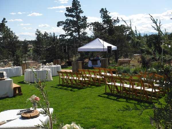 Outdoor Wedding Plan B